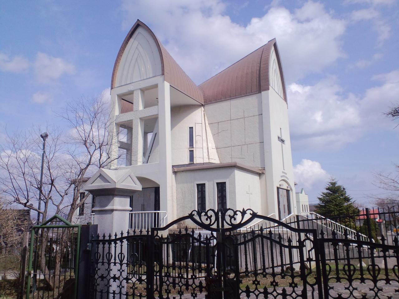 フランスの教会風