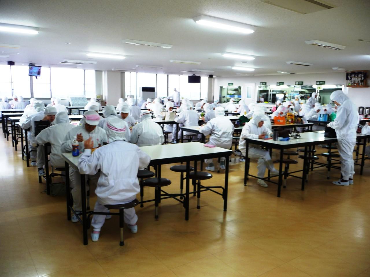 冷食工場 食堂