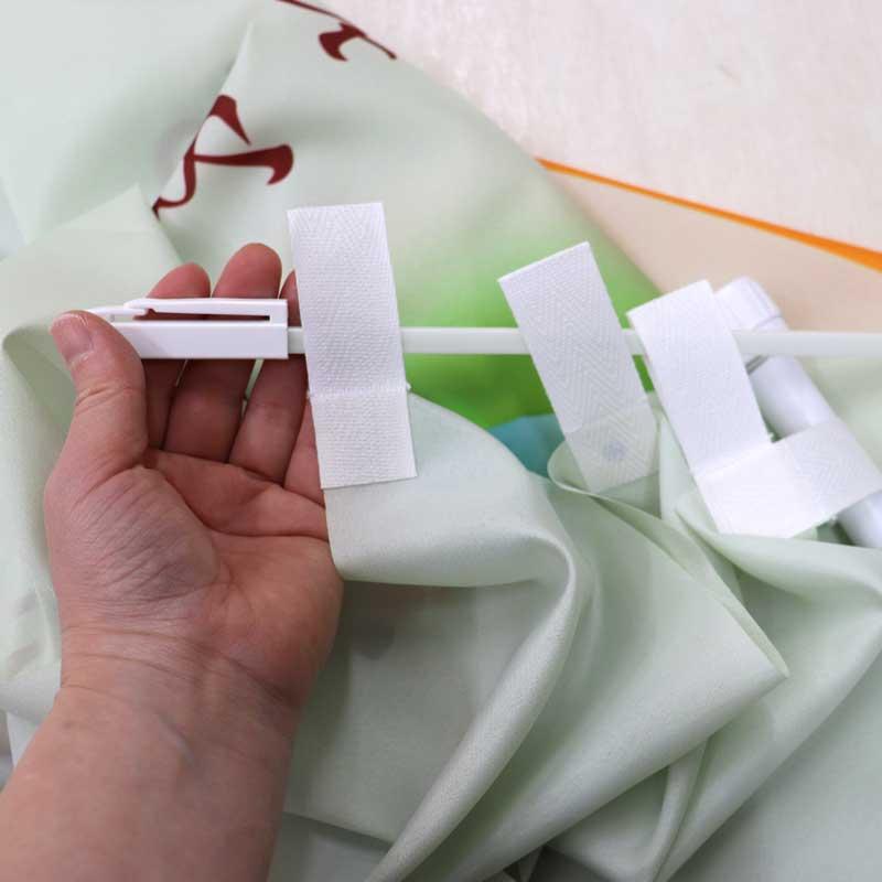 (3)横棒に上部のチチを通す