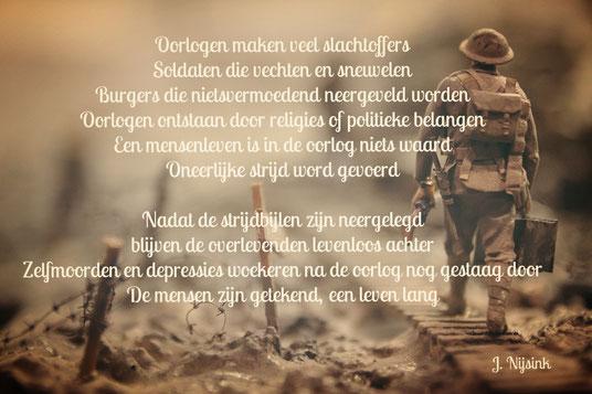 Gedicht Oorlog