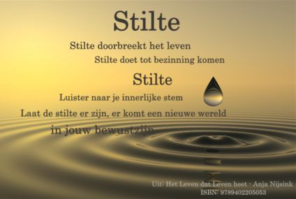 Meditatie in stilte