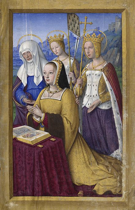 Les Grandes Heures d'Anne de Bretagne , Bnf latin 974 folio 3r