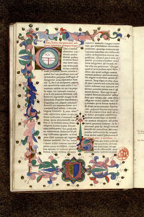 De Mirabilibus Mondi de Solin Manuscrit daté de 1408 Paris (Photo IRHT)