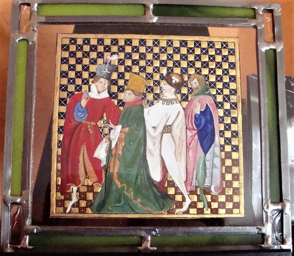 Les Conseillers de Salomon , reproduction de la Grande Bible Historiée Complétée (1395-1401) Disponible ( me contacter)