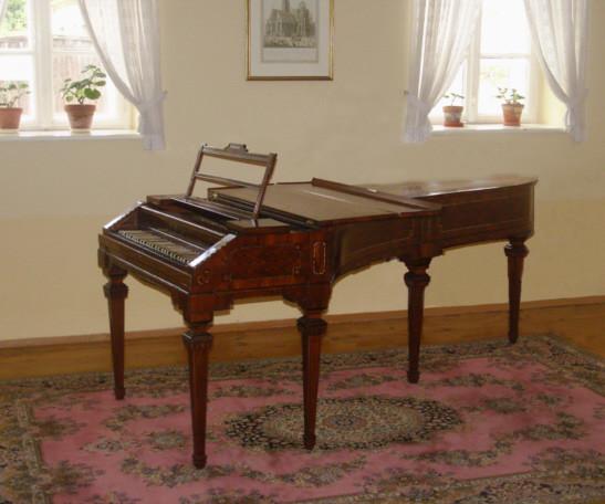 Joseph-Haydn-Fortepiano, Rohrau, Lower Austria (Walter school)