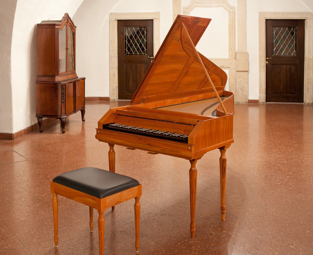 Stein Fortepiano, W. Keil, 2003. Peterskirche, Wien