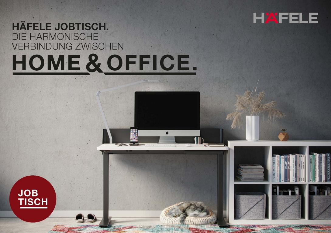 Home + Office = Höhenverstellbarer Schreibtisch für Zuhause