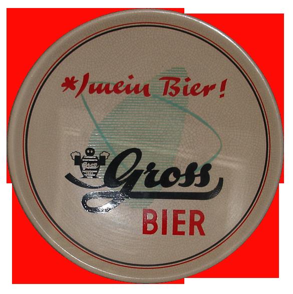 Gross Brauerei Riegelsberg Wandteller