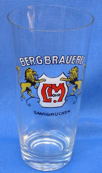 Bierglas Bergbrauerei Mohr