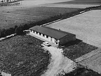 Produktionshalle im Jahr 1958