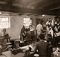 Produktion um 1950