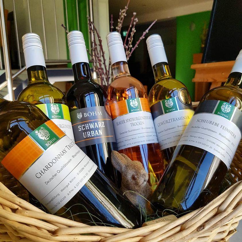 Online-Weinprobe: Ostern