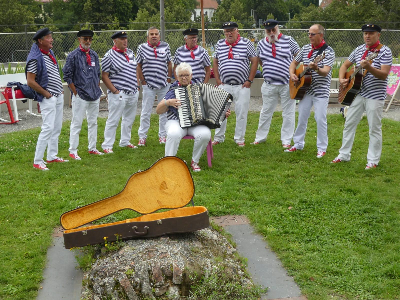 Auftritt an der Landesgartenshow in Überlingen 2021