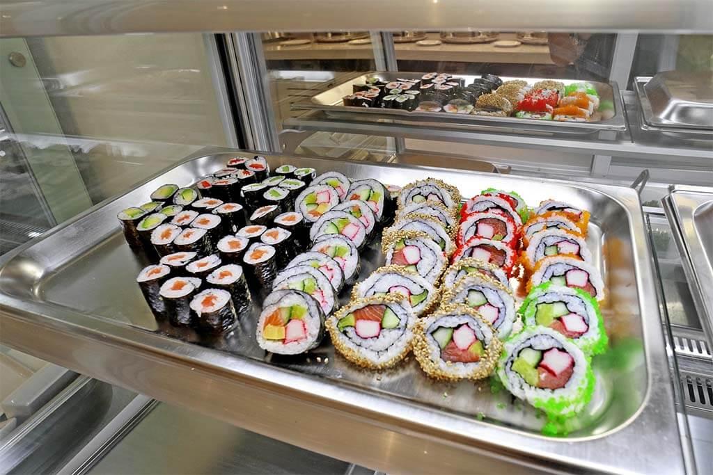 Sushi, Maki und Nigiri