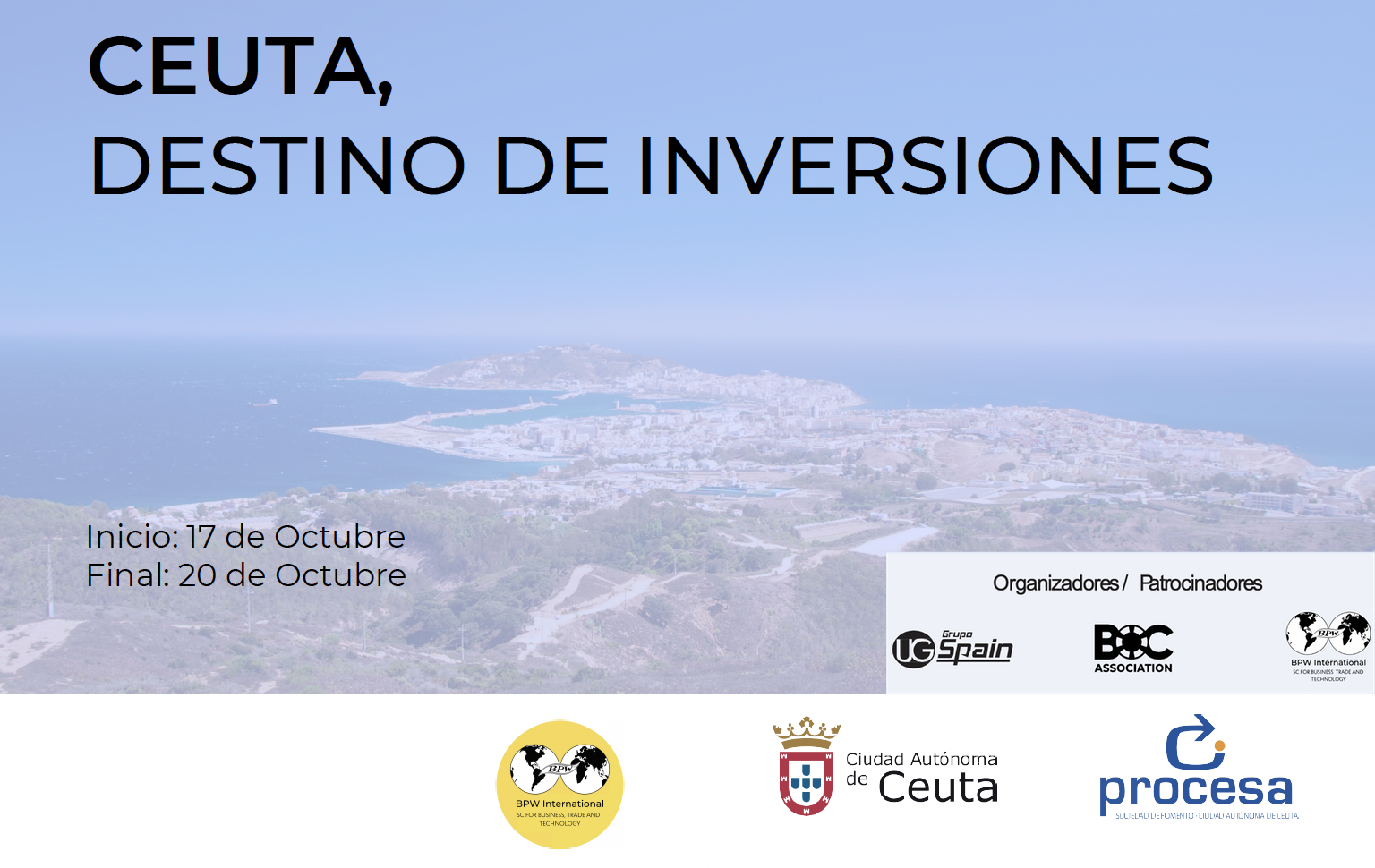 Ceuta, Destination of Investments - Conference with BPW International