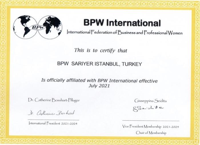 New Affiliate Club - BPW Sariyer Istanbul, Turkey