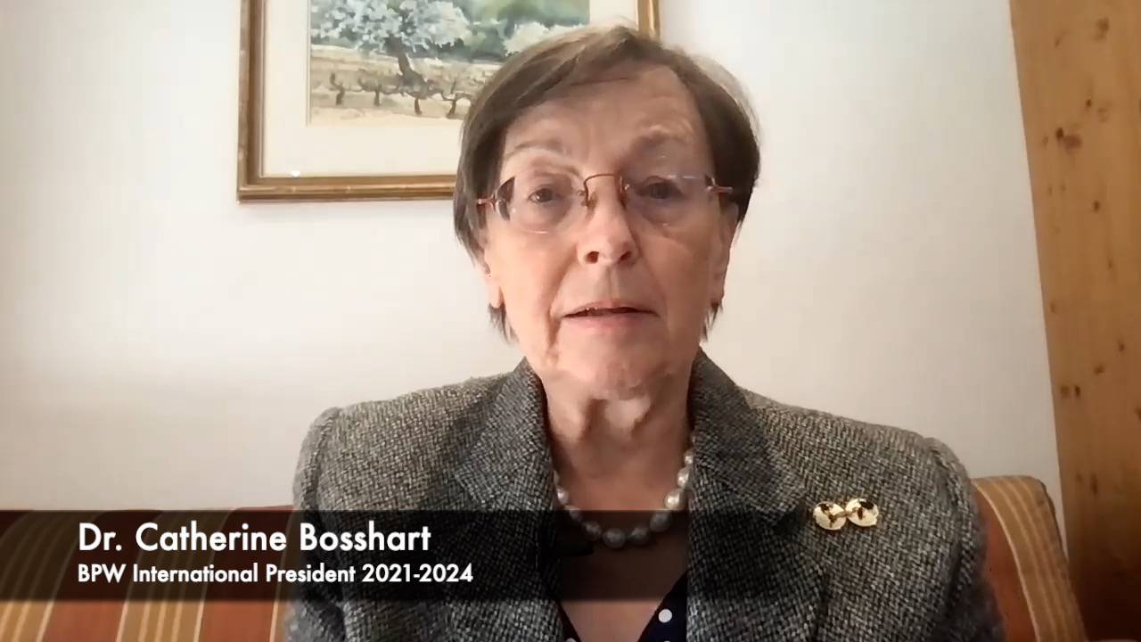 Message from Dr. Catherine Bosshart to the BPW of La Palma