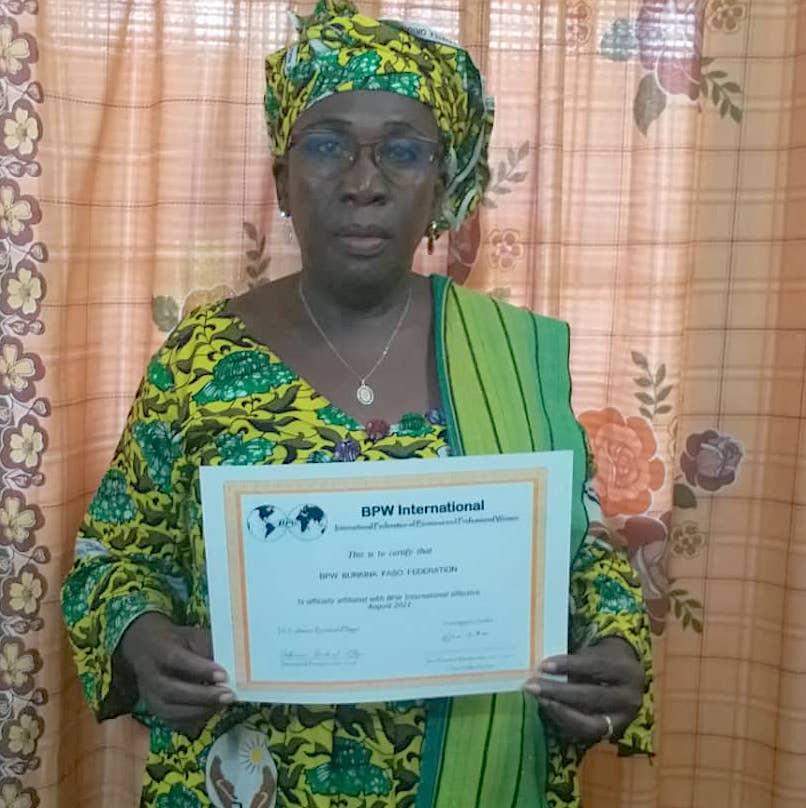 New Affiliate Federation - BPW Burkina Faso, Africa