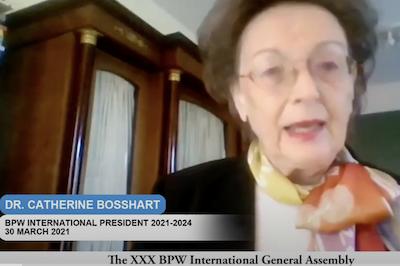 Message of the New BPW International President