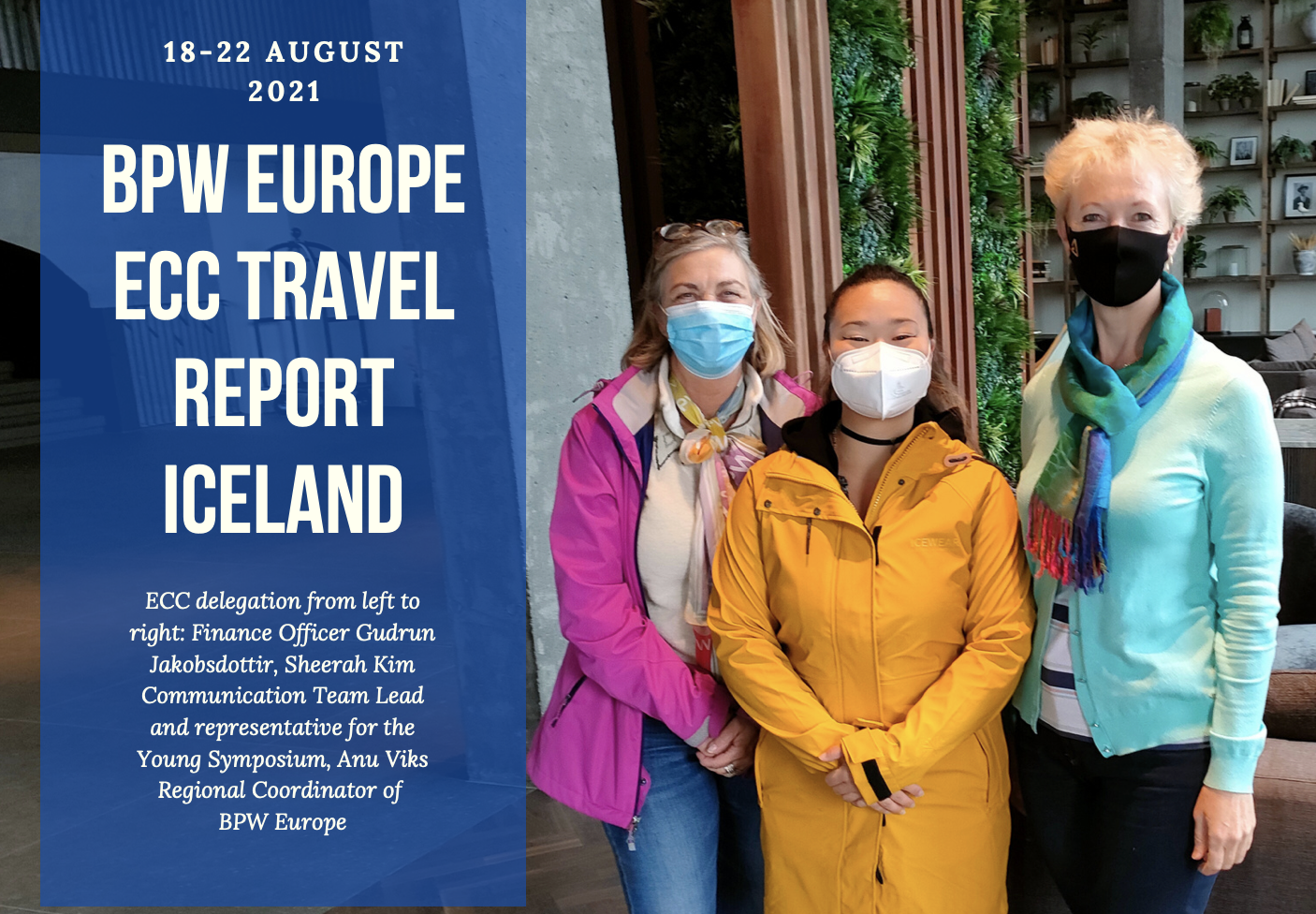 Report on ECC Iceland Visit by Sheerah Kim