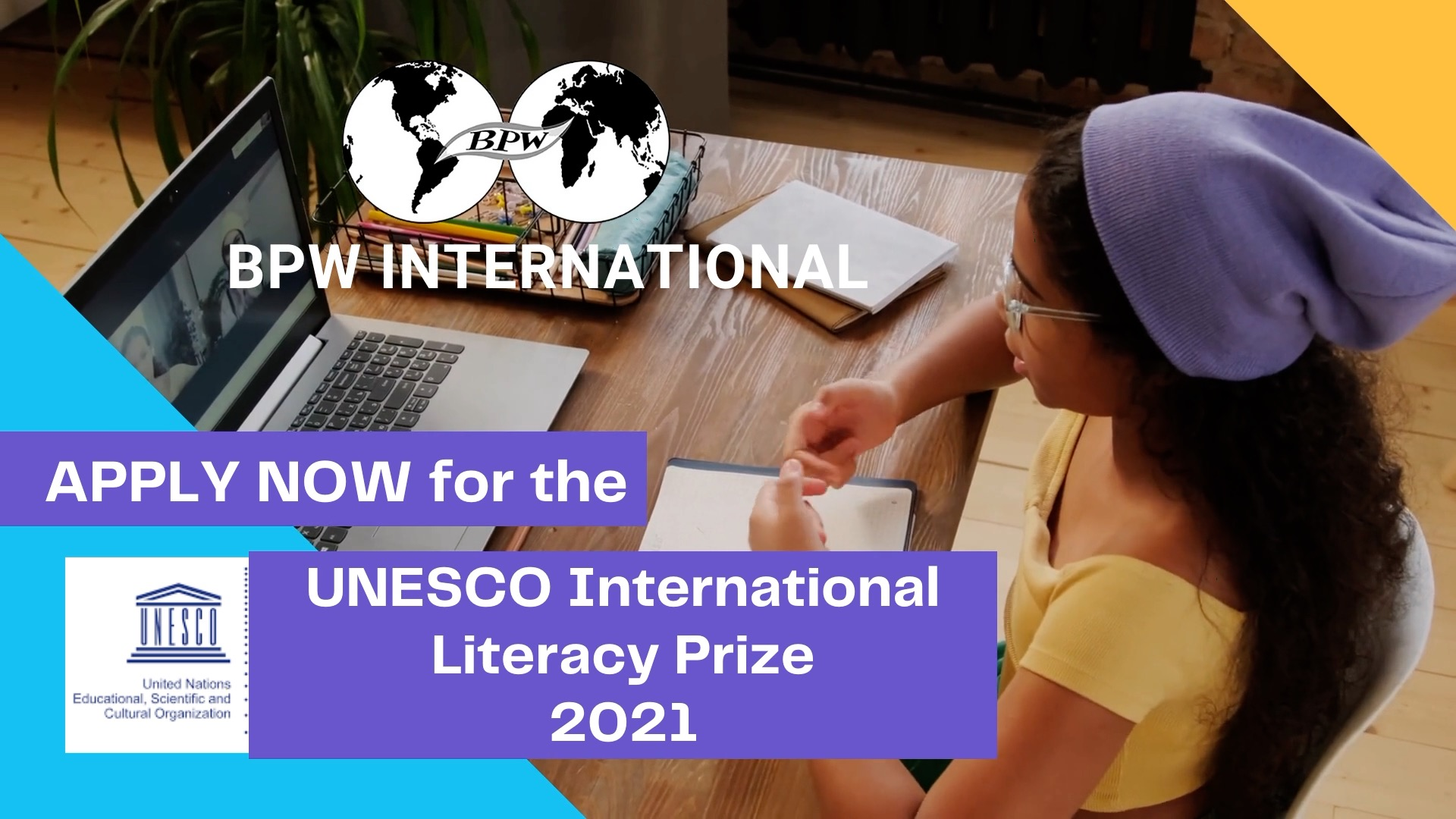 2021 UNESCO International Literacy Prizes - Call for Nominations