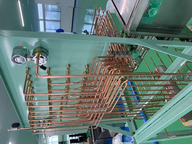 Φ6銅管 計装配管