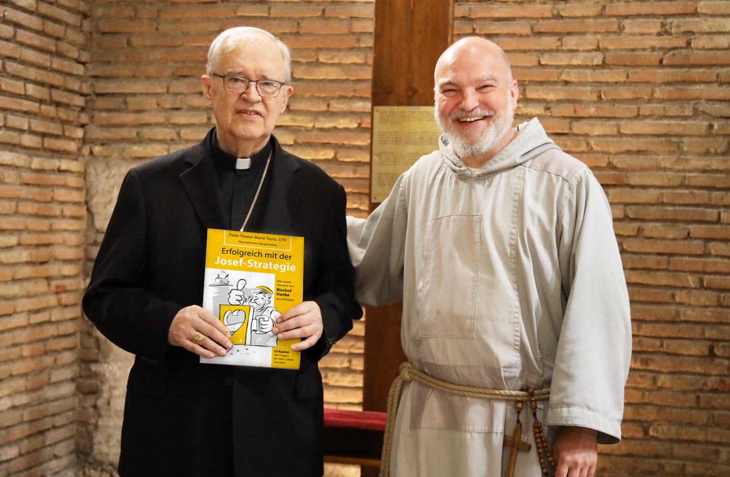 Buchvorstellung in Rom bei Kardinal Paul Josef Cordes