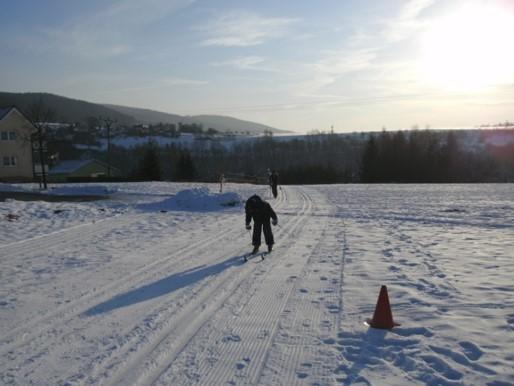 Wintersportfest, Zieleinlauf