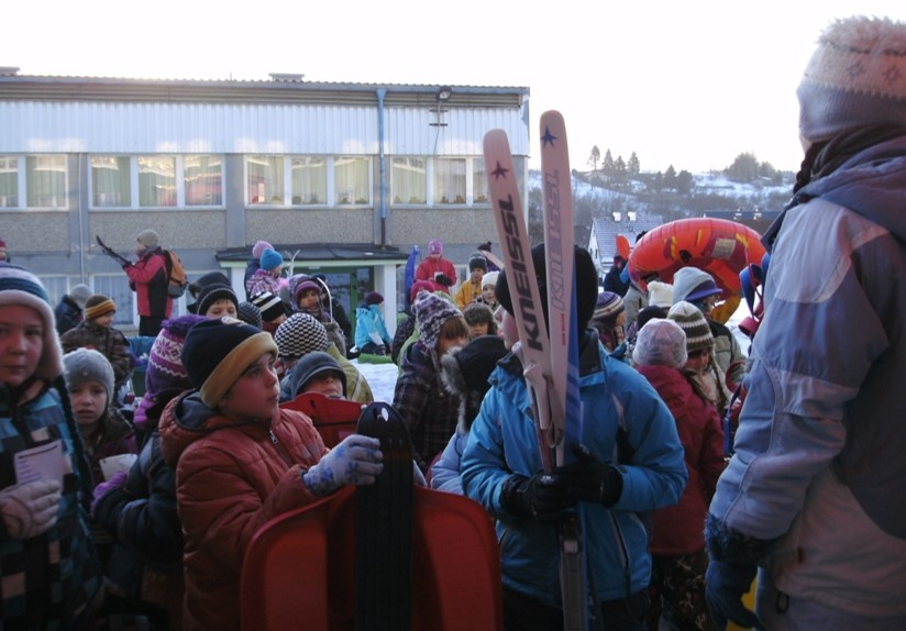 Wintersportfest, Verpfegung durch den Förderverein