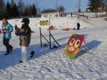 Wintersportfest, Zielwurfspiel