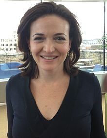 Sheryl Sandberg works at Facebook as the Chief Operating Officer