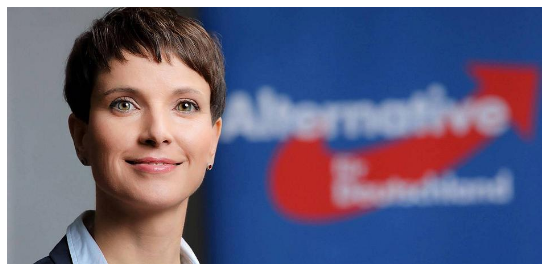 Frauke Petry, leader of right leaning AFD party in Germany