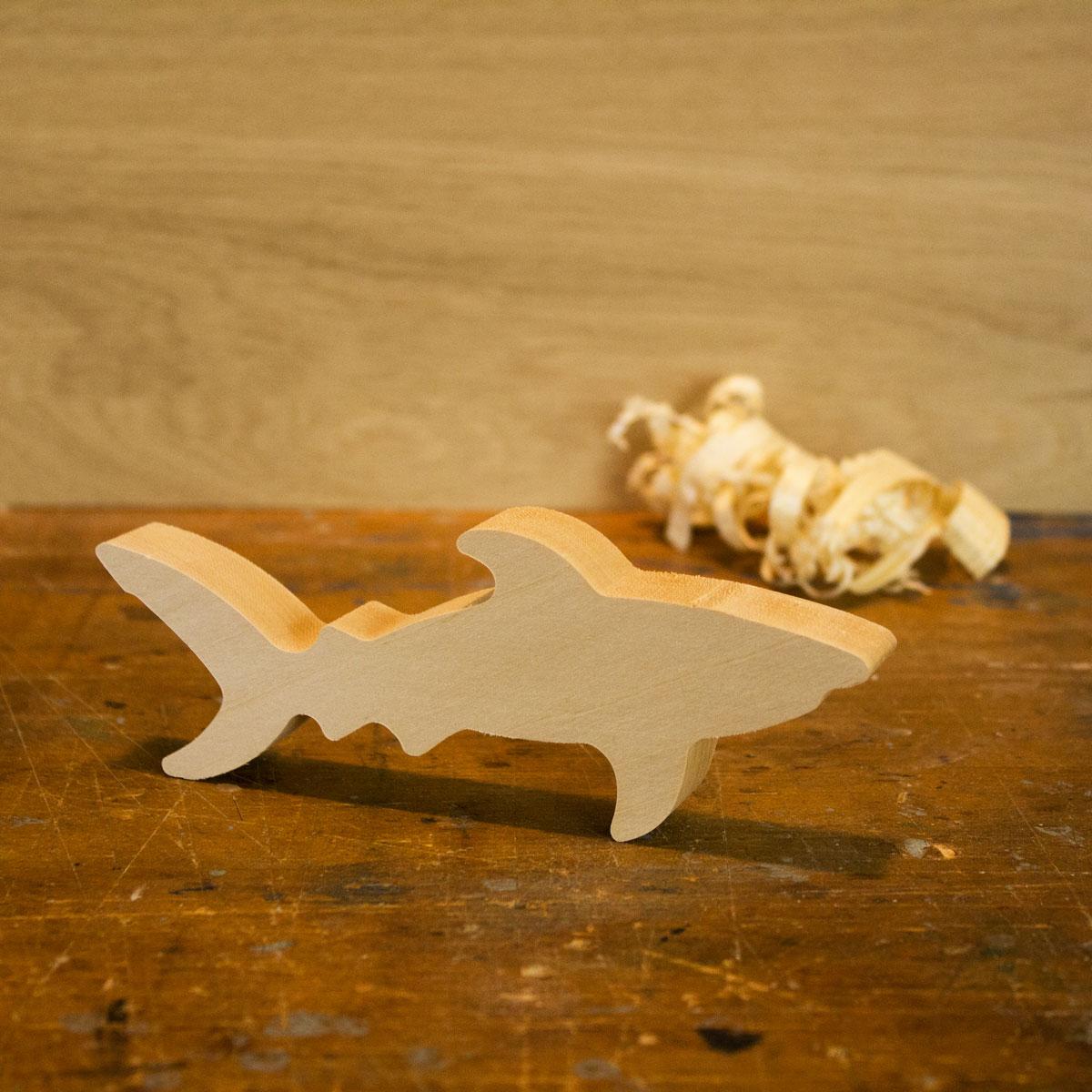 schnitzrohling hai - die werkkiste