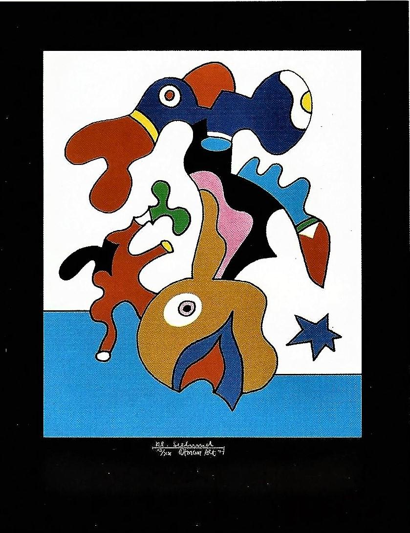 Otmar Alt: Kleiner Seehund, 1977
