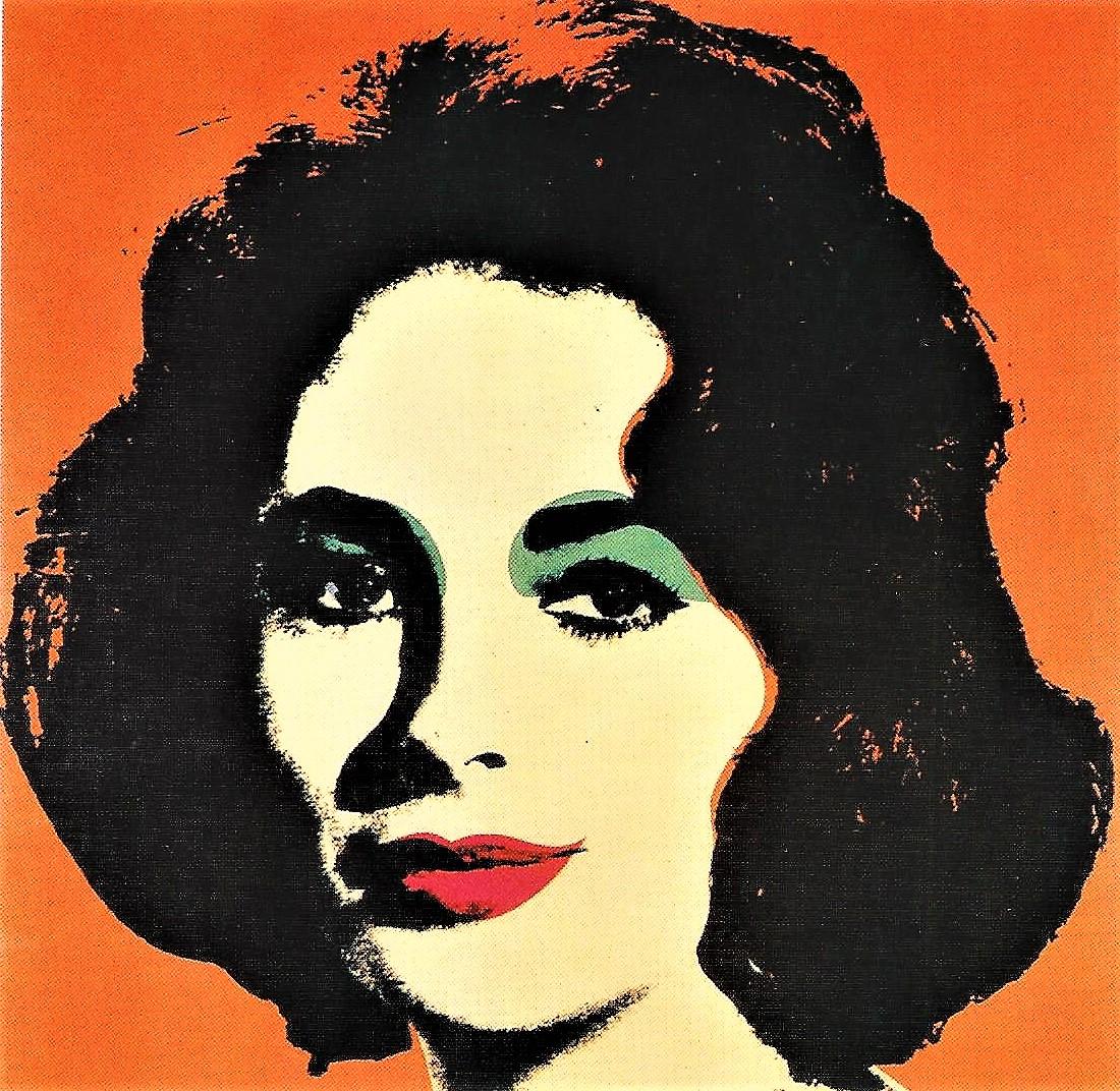 Andy Warhol: Liz taylor, 1966