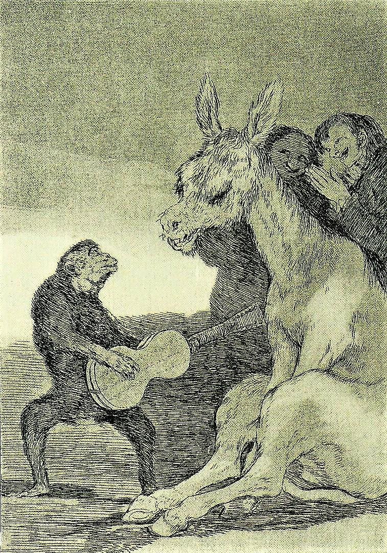 Franscisco Goya: Bravissimo, 1797/98
