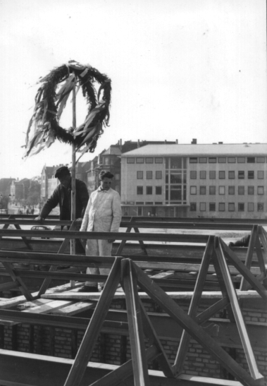 Richtfest 1957