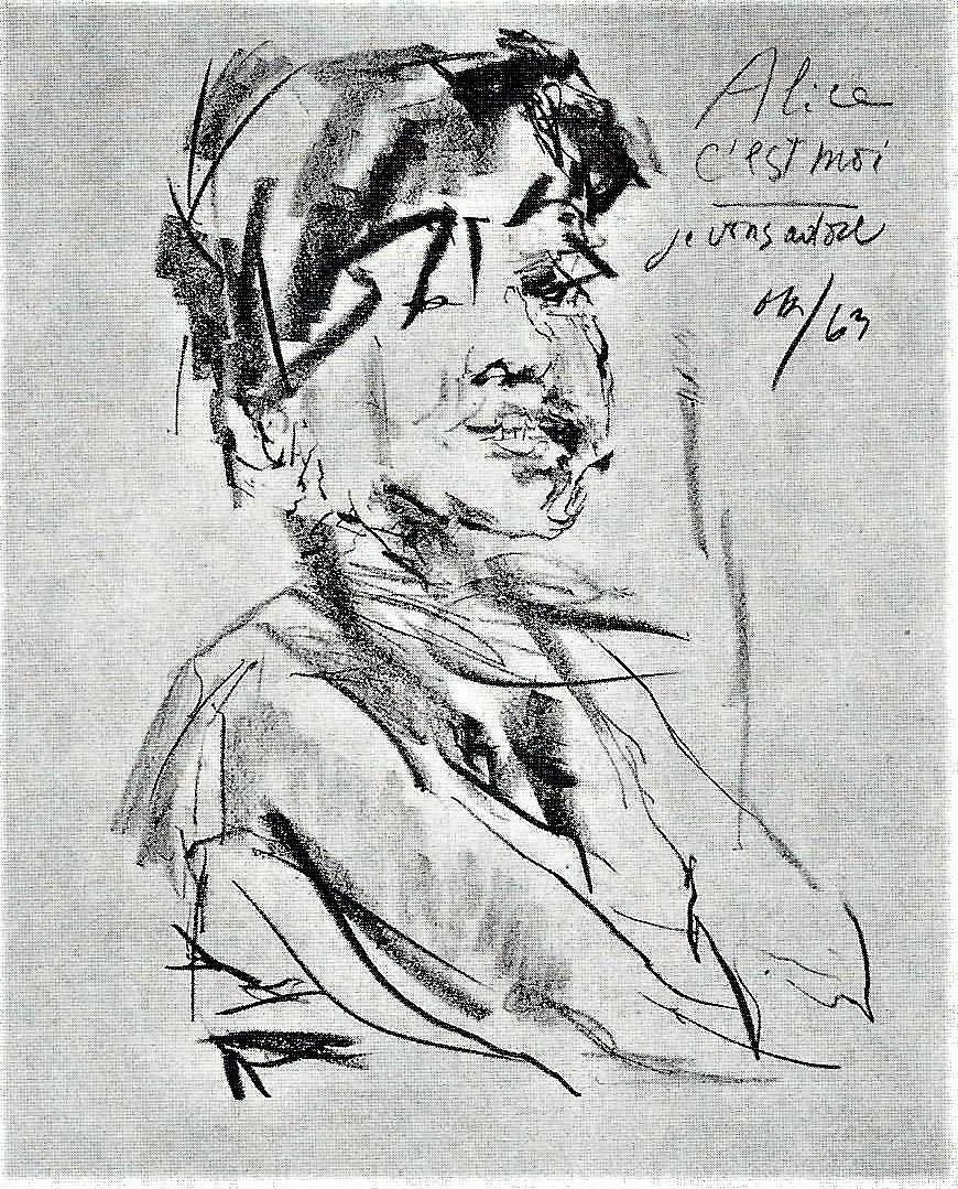 Oskar Kokoschka: Alice, 1963