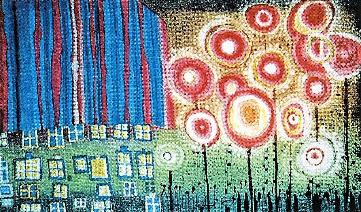 Friedrich Hundertwasser: Landschaft