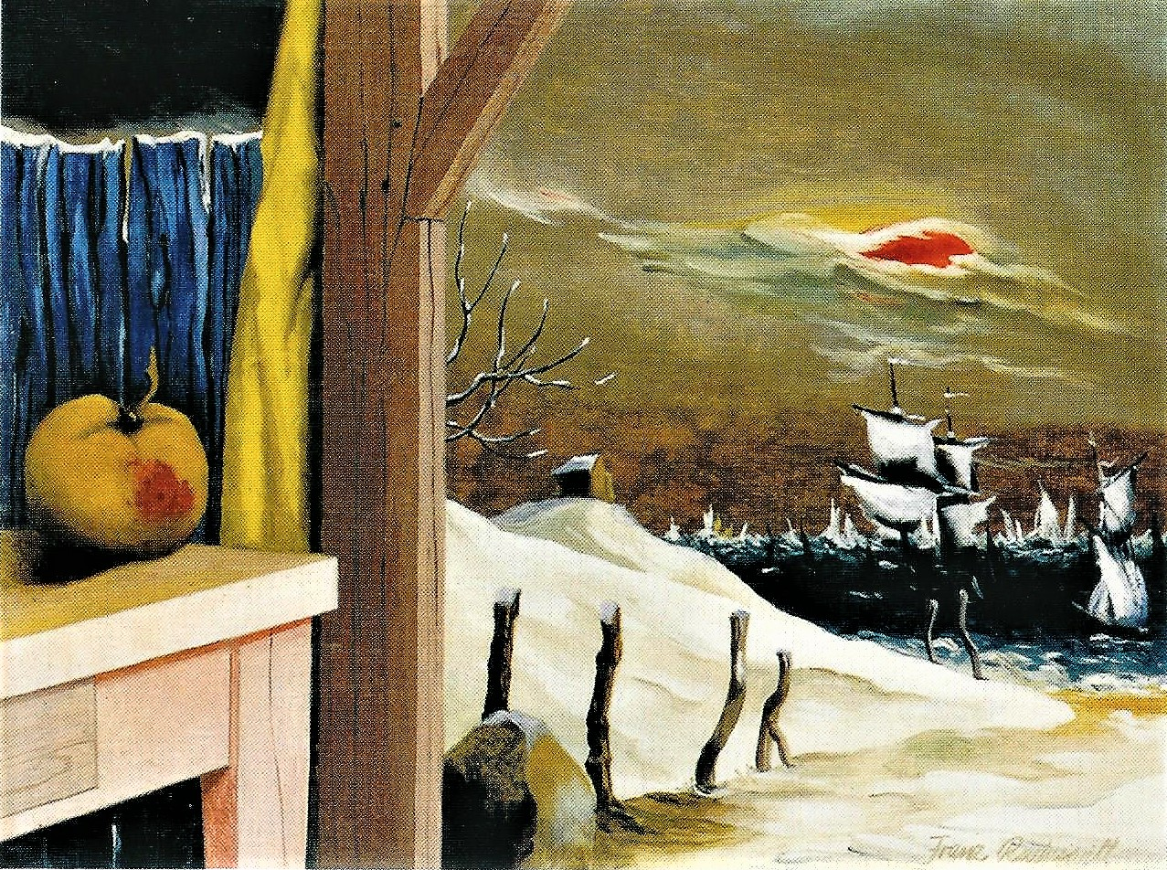 Franz Radziwill: Der Winterapfel, 1952