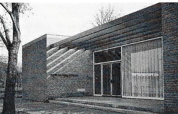 Eingangsbereich 1958