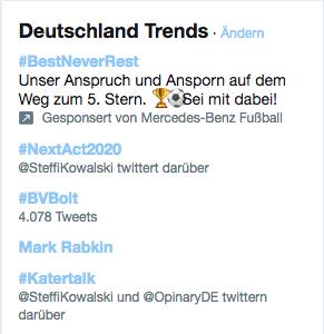 Opinary: Trending Topic bei Twitter mit Katertalk: Konferenz Frühstück mit Kai Diekmann