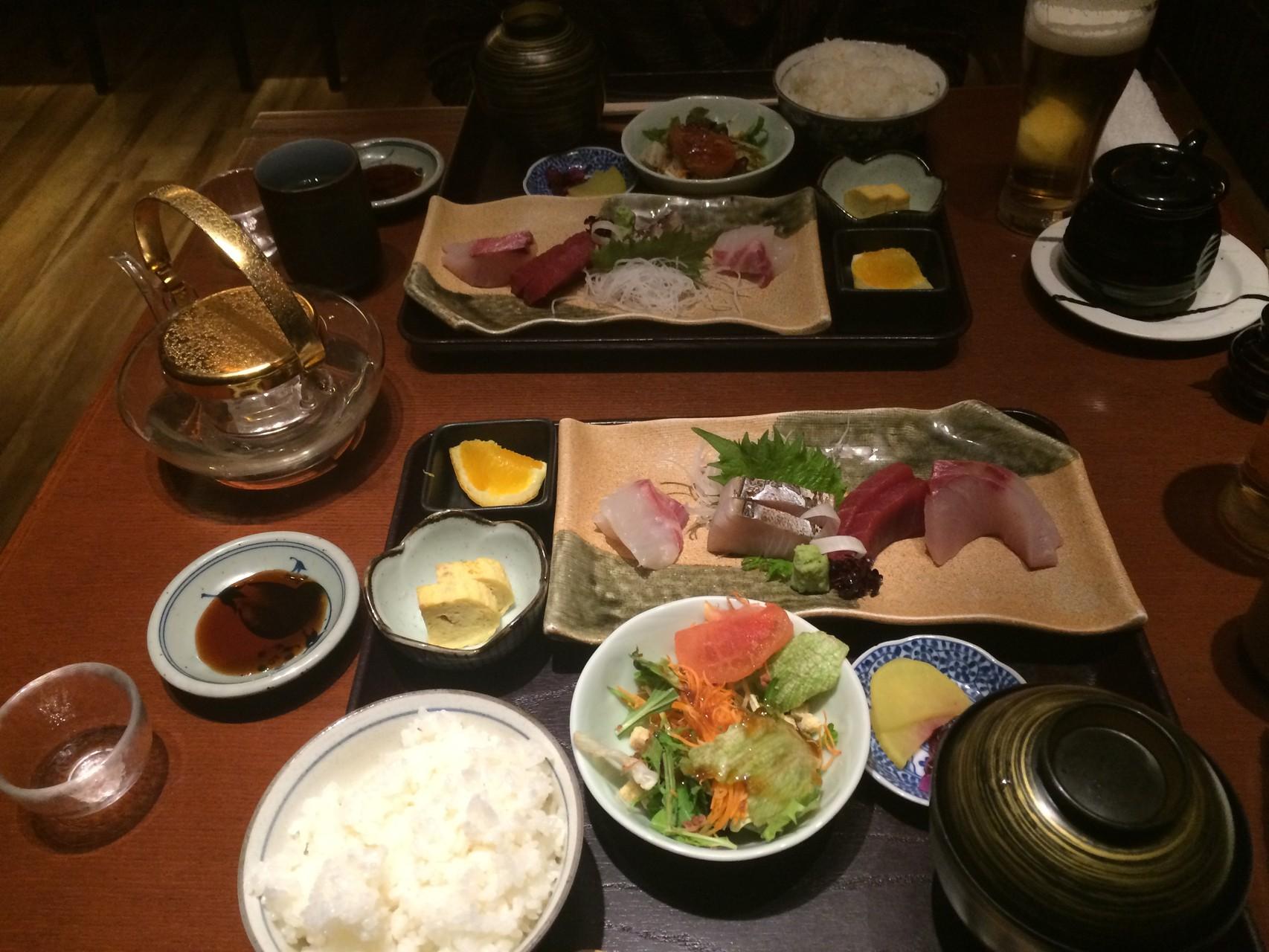 Notre dernier repas japonais à Nagoya