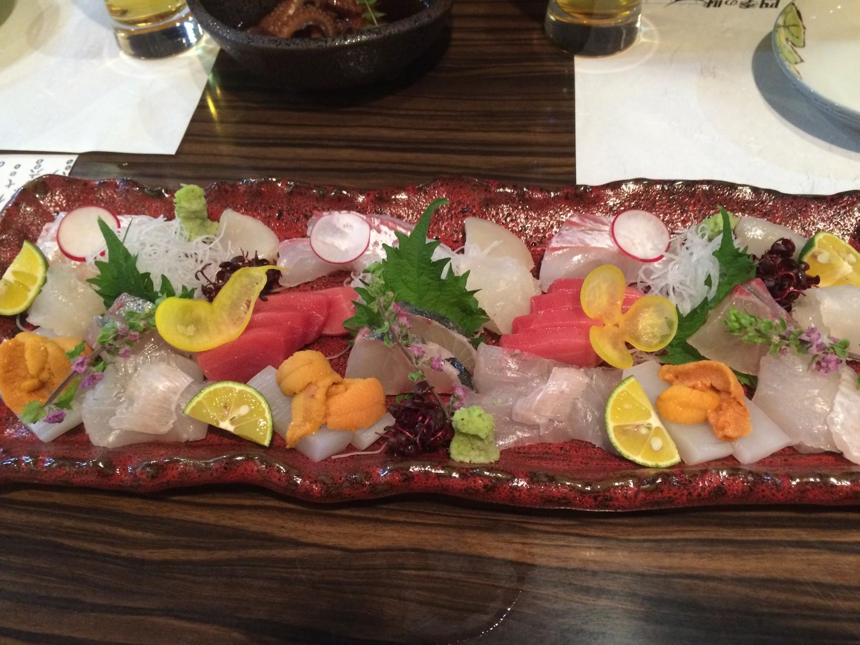 Et ses sashimis