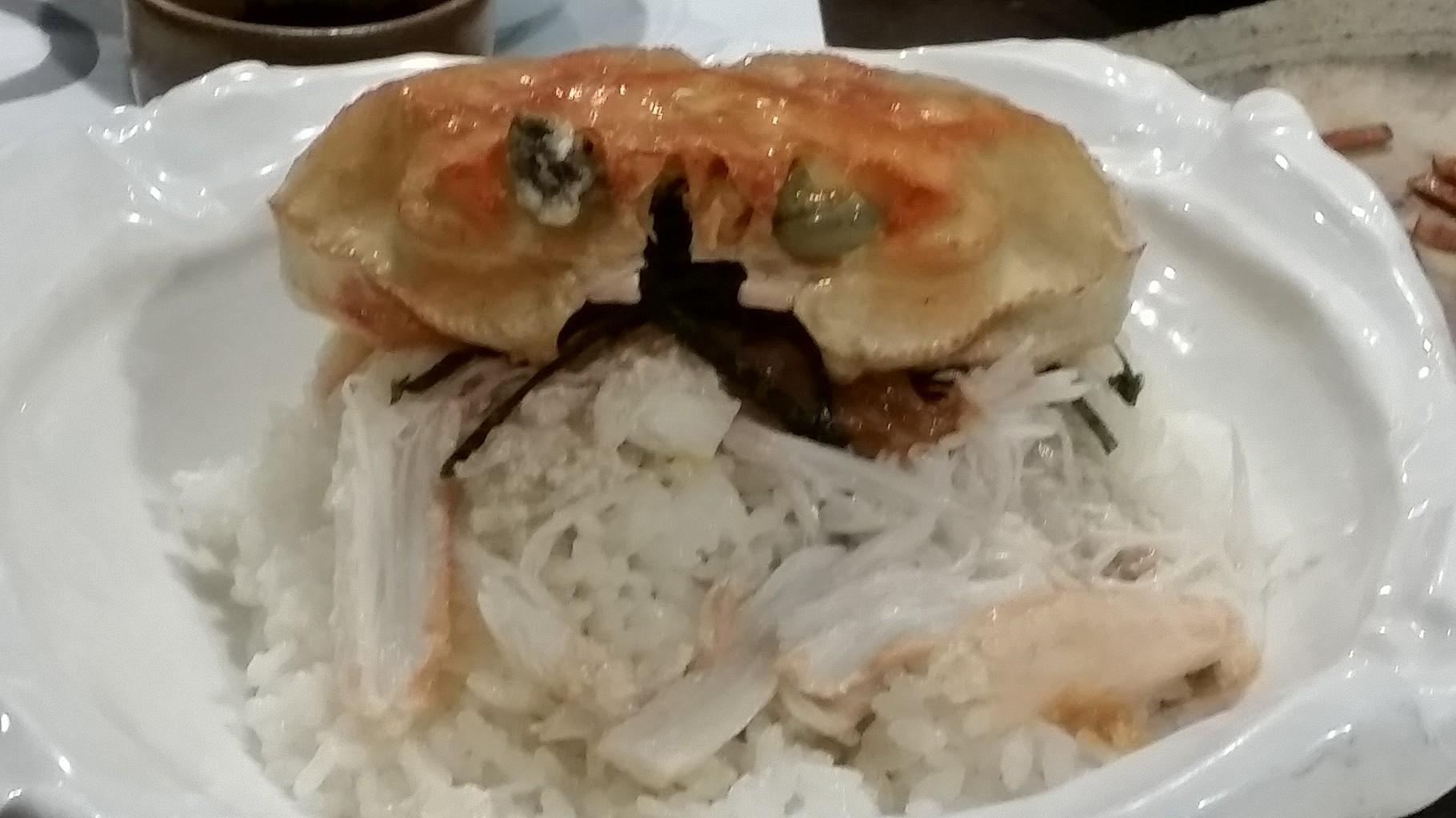 Riz au crabe de Kanazawa