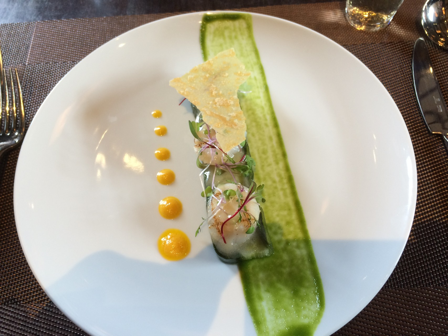 Cuisine française près de Takeda Castel
