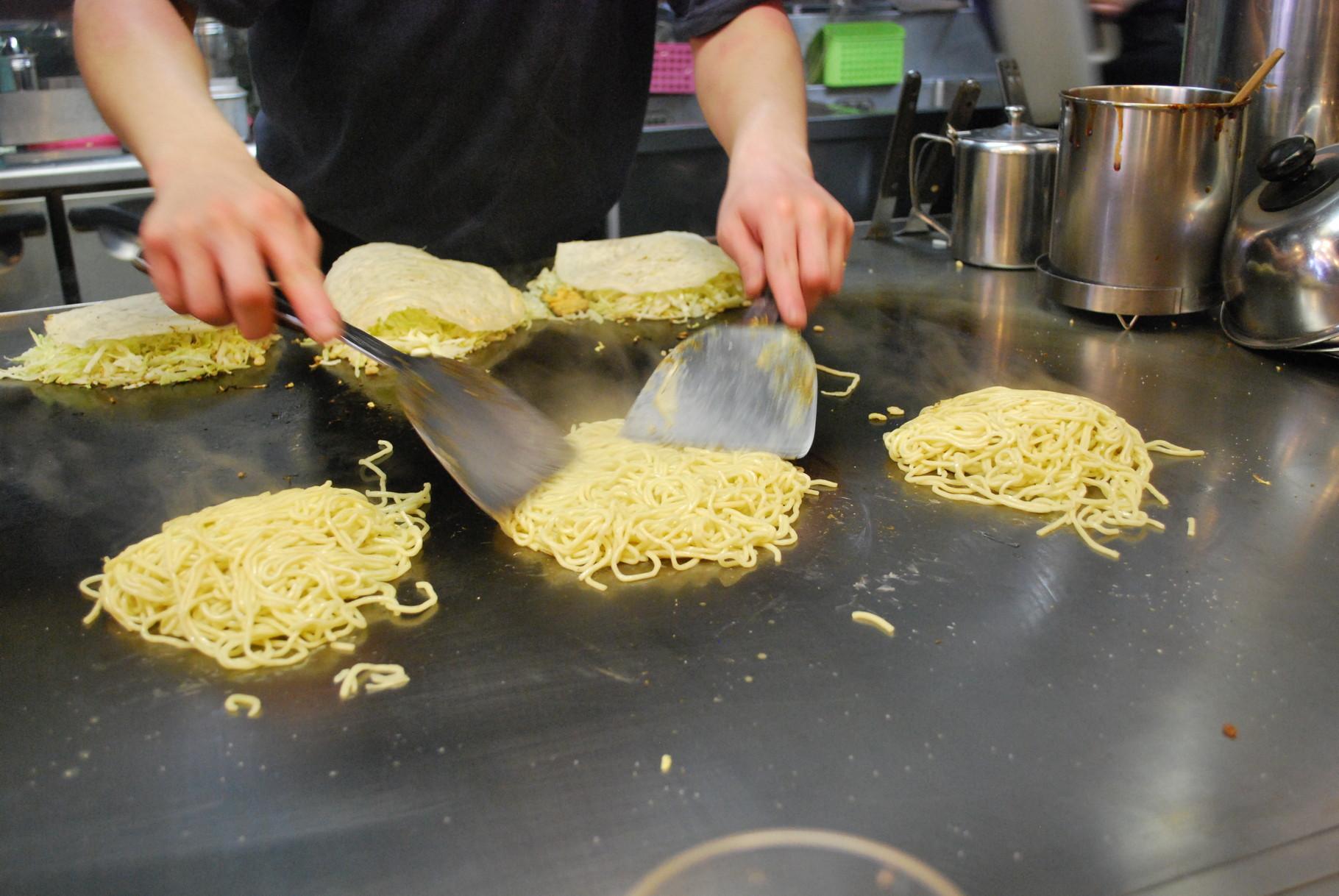 Okonomiyaki à Hiroshima