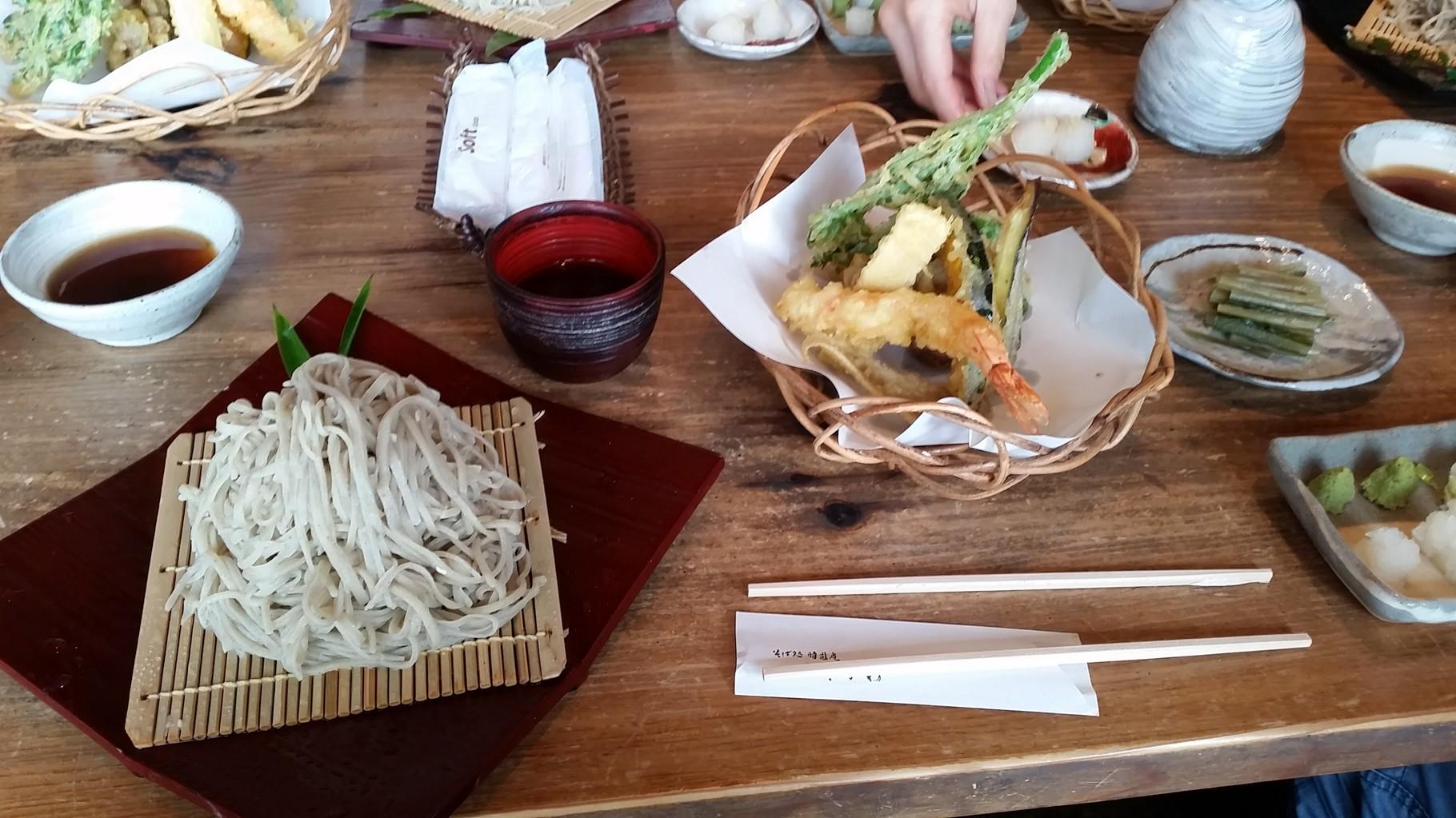 Soba près de Nagano à Ikeda