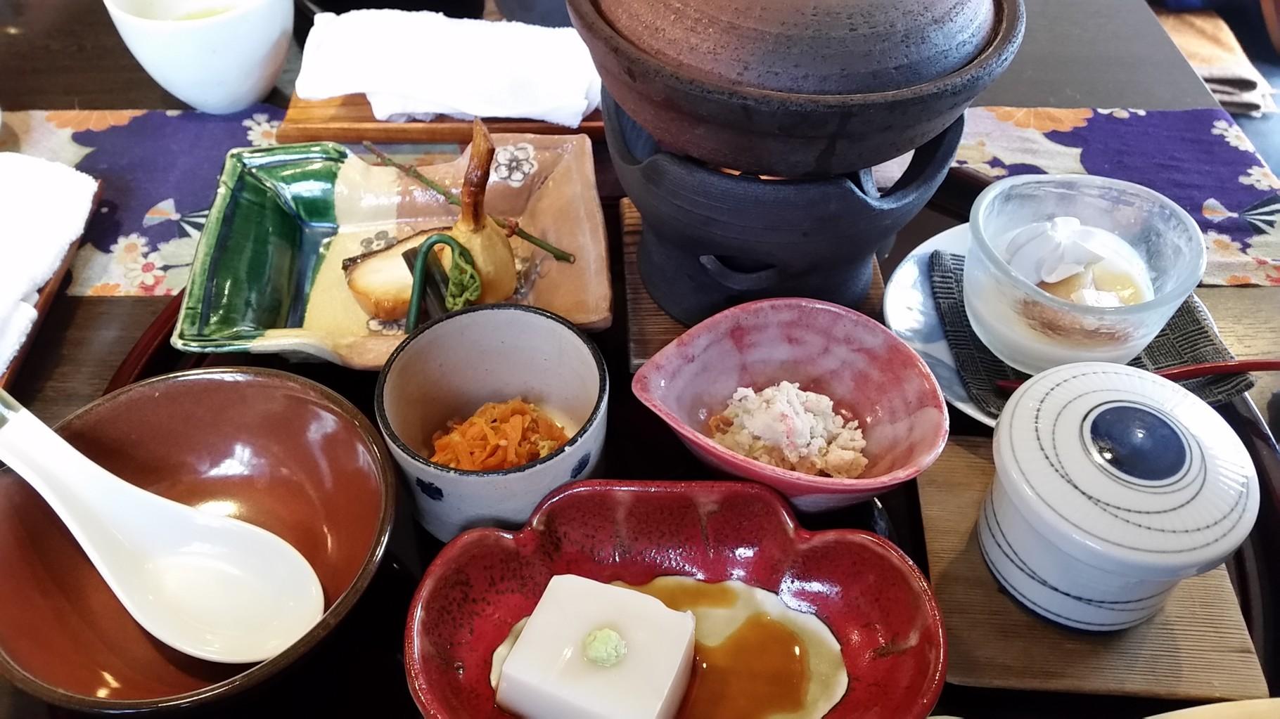 Belle assiette à Nagano