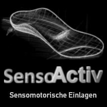 Skizze Sensomotorische Einlage von Ortho-Huber